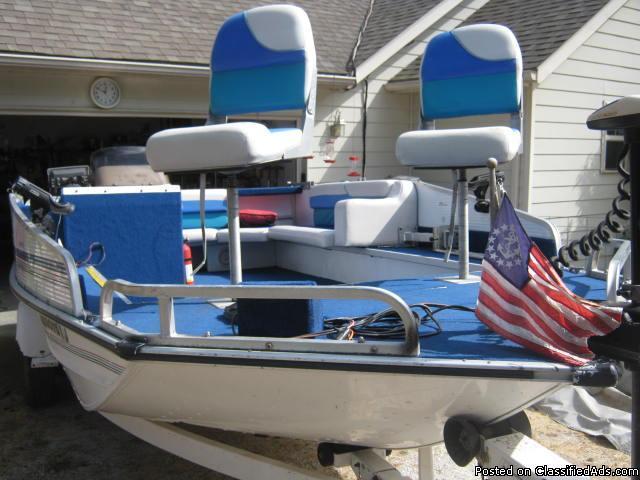 Grumman 1996 19 Deck Boat For Sale In Garfield