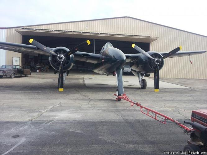 Grumman F7f Tigercat Restored To New Condition For Sale In