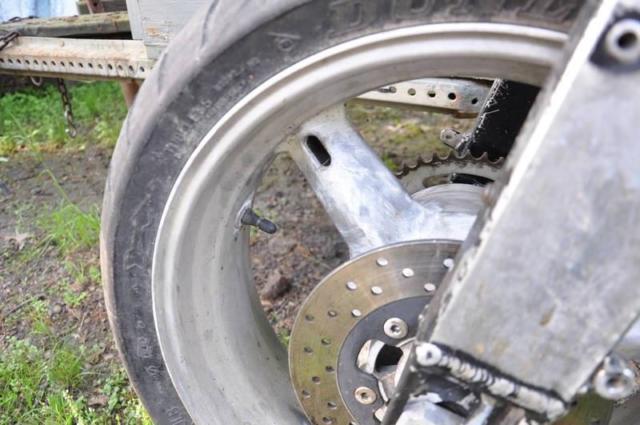 Gsxr wheel tire axle caliper rear seat cc Mars etec 48 volt ev kit