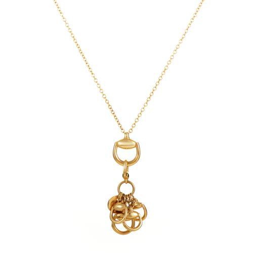 c173278bd Gucci 18K Yellow Gold Horsebit Pendant Necklace for sale in Southampton,  Pennsylvania