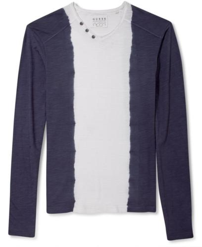 Guess Jeans Shirt Long Sleeve Dip Dyed For Sale In