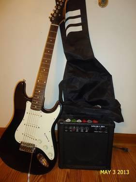 Guitar, Amp & Extras--Michigan
