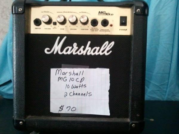 Guitar Amps, $70 - $70