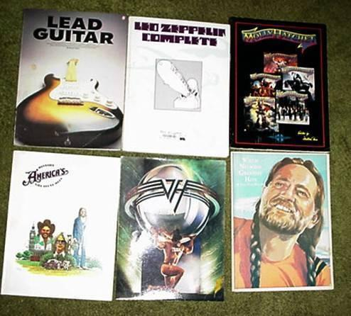 GUITAR BOOK COLLECTION.