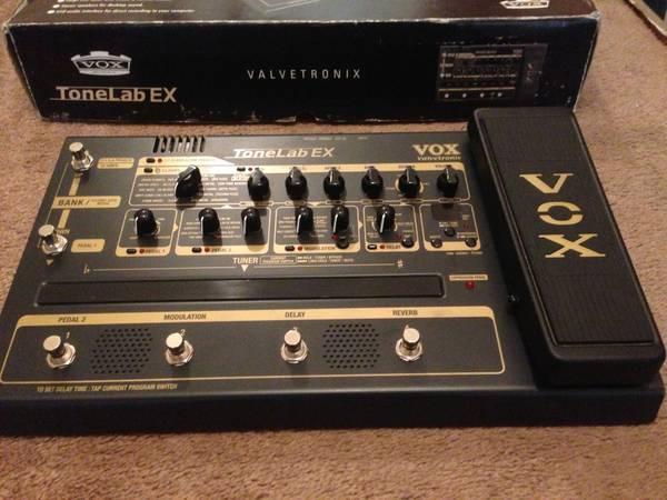 guitar effects pedal vox tonelab ex valvetronix excellent cond for sale in wenatchee. Black Bedroom Furniture Sets. Home Design Ideas