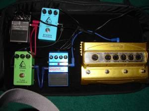 guitar pedalboard - $200 augusta