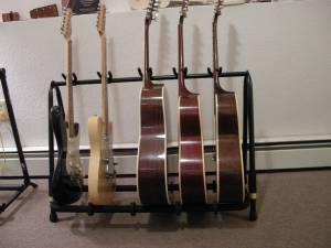 GUITAR, UKE, MANDO, VIOLIN STANDS  CASES - several typessizes Anchorage