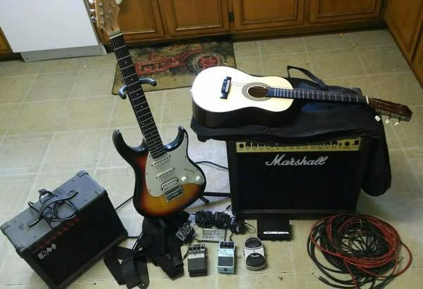 Guitars, Amps, and Equipment For Sale - for Sale in Macon ...