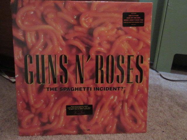 Guns N Roses The Spaghetti Incident Original Sealed Orange