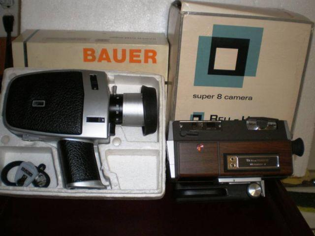 GW 210 Vintage Kodak, Bell & Howell + Movie Camera's &