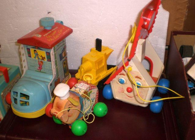 GW 273 Vintage Fisher Price Pull Toys