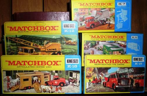 Mercedes Benz Of Morristown >> GW 3 DISCOUNT ON MATCHBOX KING SIZE CARS FROM 1960's ( for ...