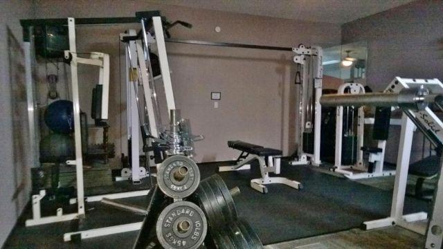 Gym exercise equipment starter kit for sale in