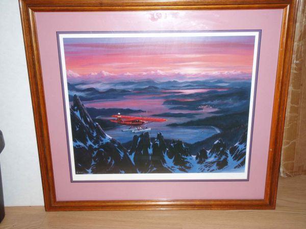 H Bonnet Framed Print Little Red Coming Home Juneau