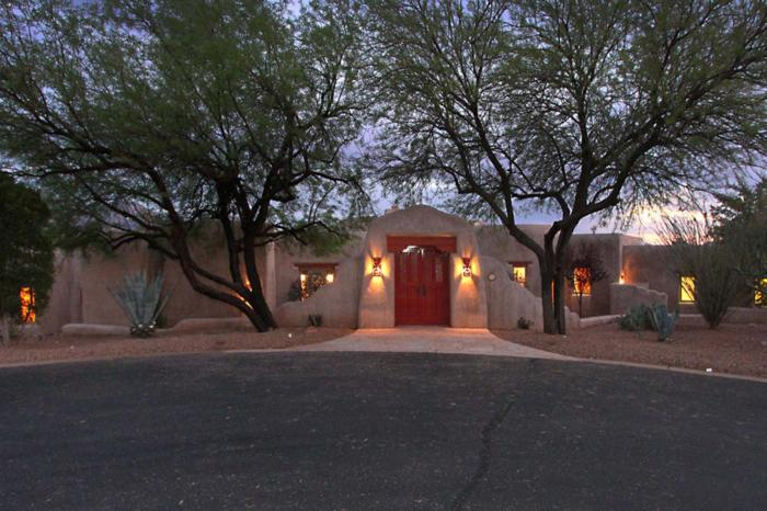 Hacienda Beauty sits on the finest lot in the gated