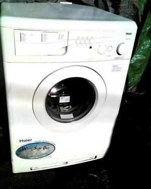 Haier 110 Volt Zero Impact Combo Washer Dryer Front Load