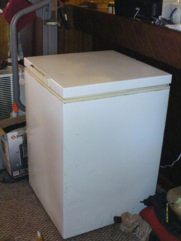 Haier 5 cubic foot chest freezer