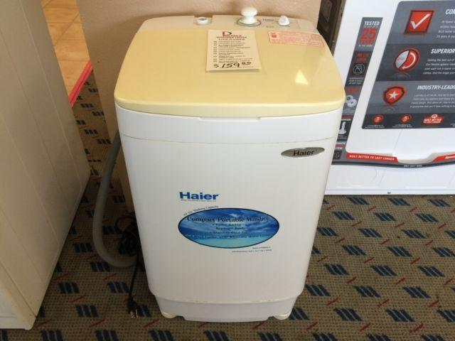 Haier Portable Washing Machine Used For Sale In Tacoma