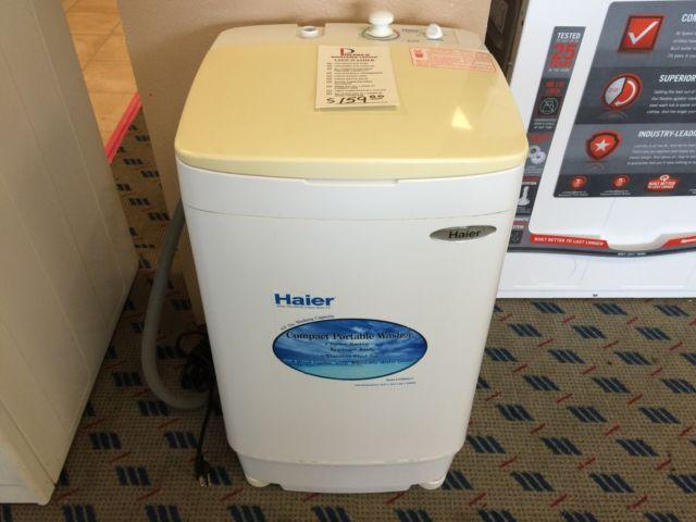 haier washing machine portable