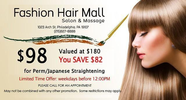 Hair Salon Fashion Hair Mall In Philadelphia Pennsylvania