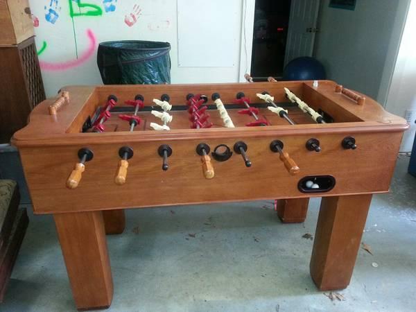 Halex Foosball Table   $300