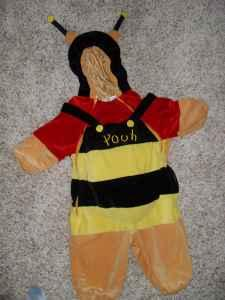 halloween costume size 12 months winnie the pooh & halloween costume size 12 months winnie the pooh dressed as a bee ...