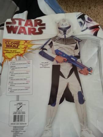 HALLOWEEN COSTUME Star Wars Clone Trooper - $12