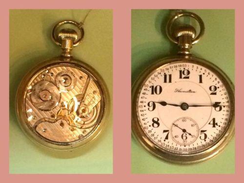 Hamilton Skeleton Pocket Watch