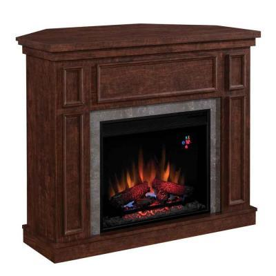 Hampton Bay Granville 43 In Electric Fireplace In Antique