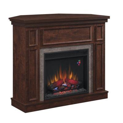 Hampton Bay Granville 43 in. Electric Fireplace in Oak