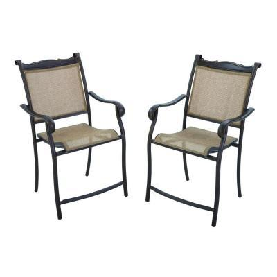 Hampton Bay Westbury Patio High Dining Chairs (2 Pack For Sale In Oakbrook  Terrace, Illinois