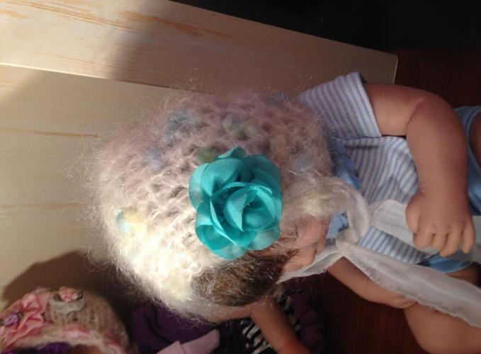 Hand Knit Baby Bonnets