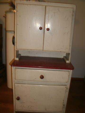 HAND MADE CHILD'S KITCHEN CABINET