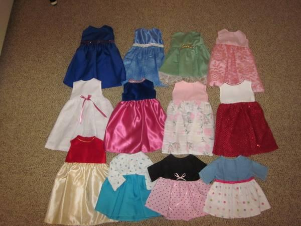 Handmade American Girl Doll Clothes $2 - $6 an outfit