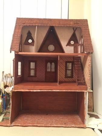 Wooden Dollhouse For Sale In California Classifieds Buy And Sell