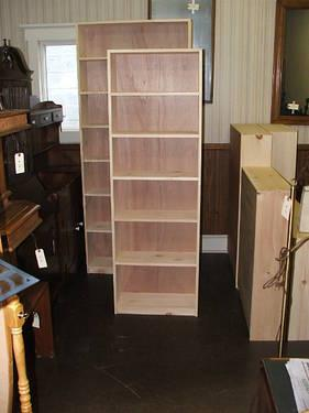 Handmade Knotty Pine Bookcases Unfinished Stock Amp Custom Sizes For Sale In