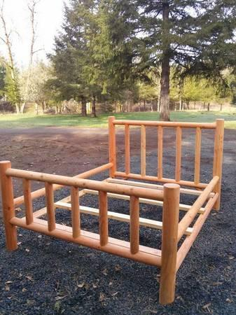 Handmade Log Bed Frames for Sale in Enumclaw, Washington Classified ...