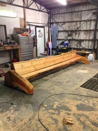 Handmade Log Benches Log Tables And More Benches Coming Soon Obo For Sale In Port Angeles