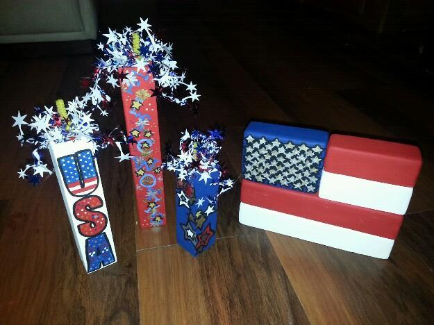 Handmade red white blue crafts for sale in altamonte for Homemade crafts for sale