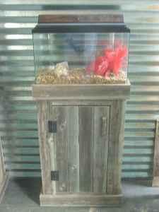 Handmade Rustic Aquarium Stand W 10 Gallon Aquarium