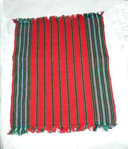 HANDMADE WOVEN FIESTA PLACEMATS AND COASTERS