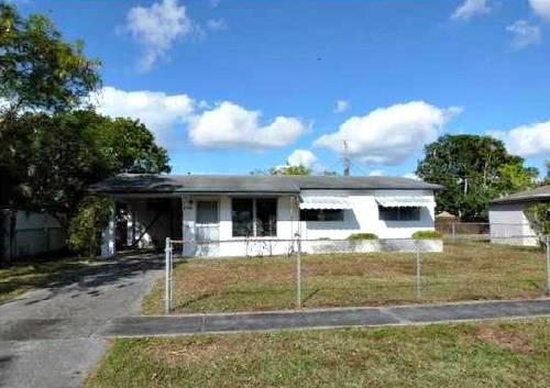 Handy Man Special 3 Bedroom 1 Bathroom House In Sunrise For Sale In Fort Lau