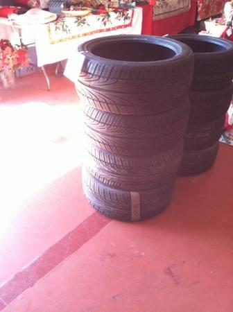 Hankook Low-Profile Tires - $260