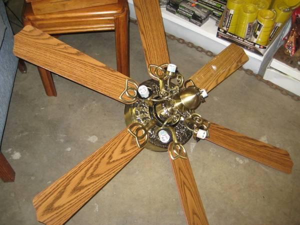 Harbor Breeze Ceiling Fan Includes Globes For Sale In