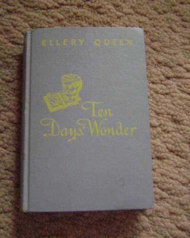 Hard Cover - Ellery Queen - Ten Days Wonder
