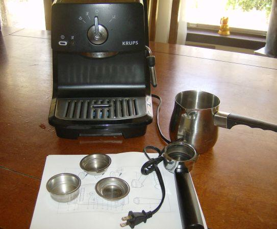 Hardly used Krups XP 4000 Espresso Machine - $55 ((OBO)