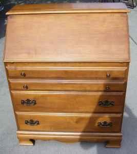 Hardrock Maple Drop Leaf Desk W 3 Drawers Spokane For Sale In Spokane Washington