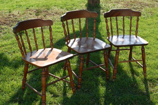Hardwood Table Chairs 3 Oaks Pa For Sale In