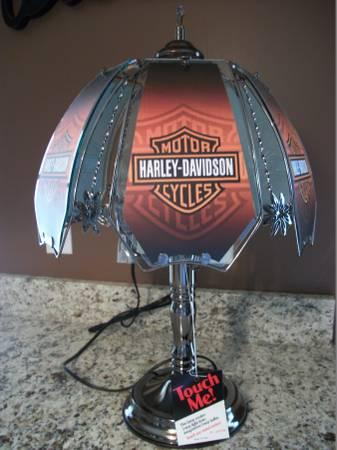 Harley davidson collectible touch me table lamp new with tag for harley davidson collectible touch me table lamp new audiocablefo