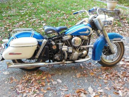 Harley Davidson Dou Glide 1961 Panhead For Sale In Penhook